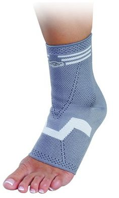 DONJOY FORTILAX ELASTIC KNITTED ANKLE BRACE - A multi-use ankle support, suitable for ankle injury prevention, post-op ankle treatment, chronic ankle sprain and acute ankle injury. Latex free. Fits either left or right ankle.