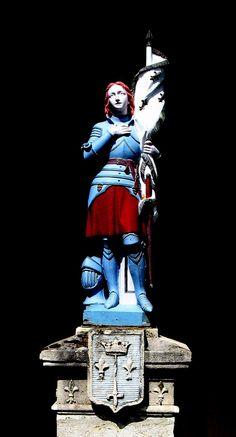 Statue de Jeanne d'Arc à Montlebon, Franche-Comté