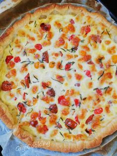 Puff pastry tart with tuna, cherry tomatoes and mozarella - GigiCooking pies pies recipes aux pommes salees soleil Easy Smoothie Recipes, Sangria Recipes, Snack Recipes, Healthy Smoothie, Mozarella, Tomate Mozzarella, Cinnamon Cream Cheeses, Pumpkin Spice Cupcakes, Water Recipes