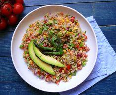 Vöröskaktusz diétázik: Tavaszi quinoa saláta Fried Rice, Risotto, Fries, Ethnic Recipes, Food, Bulgur, Health, Food Food, Essen