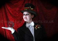 A Very Vintage Christmas (Top Hat and Tails) by Amy Amelia Arts.  To book contact: www.amyameliaarts.co.uk  #eventprofs #Christmascostume  #contactjuggling #crystalball #crystalballperformer #crystalballperformance #Xmas #weddingentertainment #corporateentertainment #eventprofessional #Circus #circusentertainment #christmas #winterwonderland #magic #magical #vintage #victorianXmas #Vintagechristmas #tophat #tails #britishchristmas #britishxmas