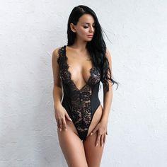 Midnight Lace Bodysuit