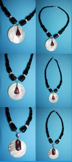 @BlackCoral4you Black Corals-Spondylus-Mother of Pearl and Sterling Silver / Corales Negro-Spondylus-Madre Perla y Plata 925   http://blackcoral4you.wordpress.com/necklaces-io-collares/  http://blackcoral4you.wordpress.com/