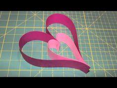 Paper Heart Door Hanger | ThriftyFun