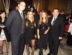 Representantes del hotel Meliá y de la agencia All Perú posando para nuestra cámara.