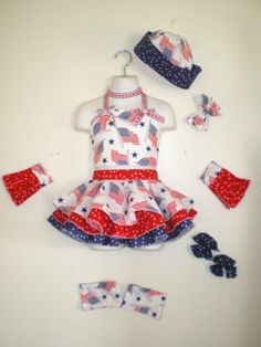 Custom Made Pageant Patriotic Wear Pageant, Custom Made, Crown, Halloween, Business, Clothing, Cute, Baby, How To Wear