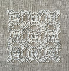 Updated Pattern: Garden Cross and Square