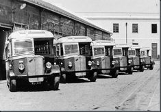 Portugal, Transportation, 1940, Buses, Colonial, Truck, Vintage, Snipers, Old Pictures