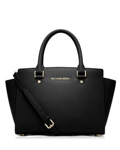 3a6000bf800 MICHAEL Michael Kors Satchel - Selma Medium Top Zip | Bloomingdales Fashion  Models, Curvy Fashion