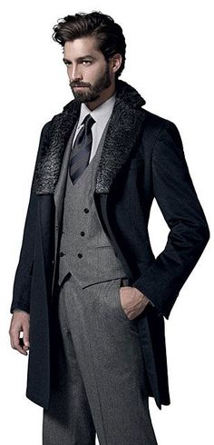 Maximiliano Patane for Brironi menswear business style