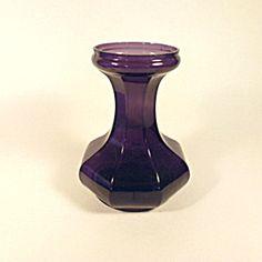 Art Deco Amethyst Glass Vase.