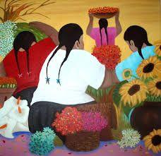 cuadros de eduardo millones - Buscar con Google Mexican Artists, Mexican Folk Art, Mexican Paintings, Peruvian Art, Sunflower Art, Sunflower Paintings, Mexico Art, Art Plastique, Black Art