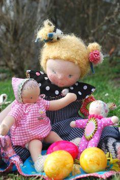Freche Luzie - Puppe nach Waldorfart