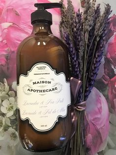 Lavender & Sea Salt Hand and Body Lotion