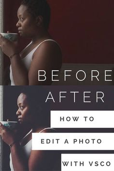 Editing photos from your phone or editing photos from your iPhone is easy. I love to use VSCO to edit my photos for Instagram.