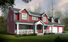 Discover the Serendipity Southern Farmhouse that has 4 bedrooms, 2 full baths and 1 half bath from House Plans and More. See amenities for Plan Southern Farmhouse, Farmhouse Design, Farmhouse Style, Farmhouse Plans, Southern Style, Modern Farmhouse, Craftsman Style House Plans, Country House Plans, Country Living