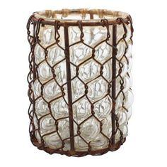 HomArt Vallarta Glass Vase