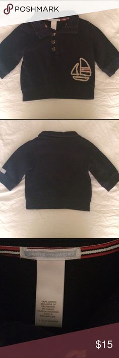 Janie and Jack pullover Janie and Jack nautical styling pullover in great condition! Shirts & Tops Sweatshirts & Hoodies