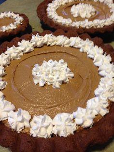 "Chocolate Cream Pie.  Recipe found in Mama's cookbook ""In the Kitchen with Gluten Free Mama"""