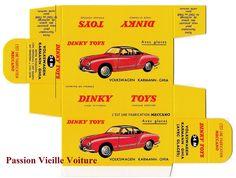 DINKY TOYS 24M : VW KARMANN GHIA boite repro / reprobox COPIE AVEC AUTORISATION | eBay