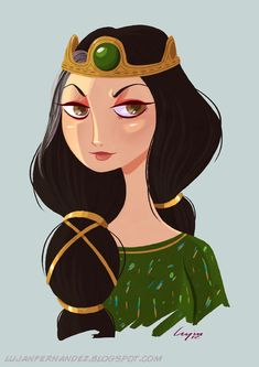 Queen Elinor - Brave by lujus.deviantart.com on @deviantART