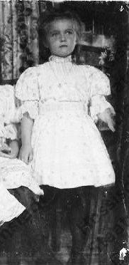 Grand Duchess Anastasia, youngest daughter of Tsar Nicholas II and Empress Alexandra