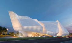 Pelli Clarke Pelli Details Competition-Winning Proposal for the Chengdu Natural History Museum , Courtesy of Steelblue