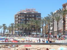 Torrevieja beach, Spain.