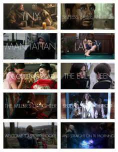 Once Upon a Time Season 2 Episode Titles (2/2)