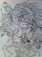 Native theme piece by 5stardesigns