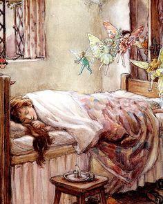 "Cicely Mary Barker, ""Dream of fairies"""