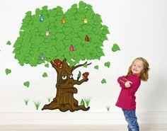 Wandsticker Märchenhafter Baum
