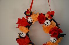 couronne Jack fleurs crépon