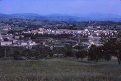 Giugno 1970 - Panoramica di Matelica dalle Serre Alte (02)