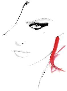 """""""Flair"""" inspiration: a photo with Isabeli Fontana for VOGUE Paris November 2011"""