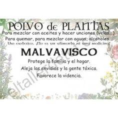 CONTRA LA GENTE TÓXICA - Polvo de planta MALVAvisco