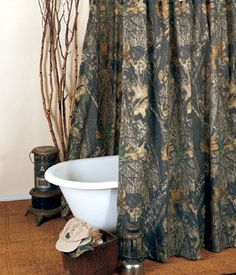 Head To Camo Trading Right Now And Explore Our Array Of Camo Bathroom  Decor, Including This Mossy Oak New Break Up Camo Shower Curtain!