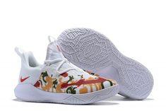 newest 741af cd44c New Arrivals Nike Zoom Shift EP Floral White Floral Gold Basketball Shoes-1  Nike Outlet