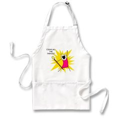 Clean all the things apron