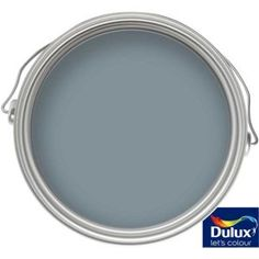 Find Dulux Easycare Washable & Tough Denim Drift - Matt - at Homebase. Visit your local store for the widest range of paint & decorating products. Room Wall Colors, Bedroom Colors, Denim Drift Bedroom, Denim Furniture, Dulux Paint Colours, Living Room Throws, Colour Schemes, Color Palettes, Downstairs Toilet