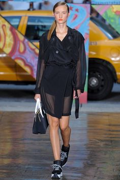 DKNY Spring 2014 Ready-to-Wear Collection Slideshow on Style.com COAT