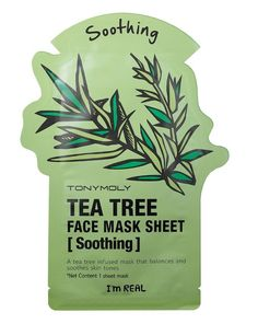 Combination SkinTea tree is an excellent ingredient to reduce and soothe inflamed skin and calm redness. The huge Tony Moly range has a mask to suits everyone, and this tea tree mask (£5) is also infused with green tea leaf extract, rosemary, and jasmine for extra soothing (and a lovely scent).