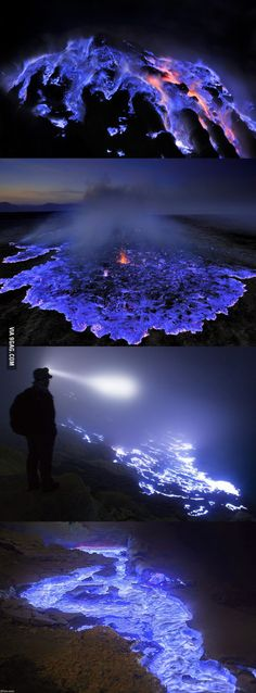 Blue volcano / Kawah Ijen - Indonesia