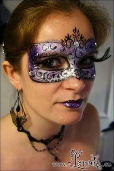 mardi gras face painting ideas | Mardi Gras face painting inspiration on Pinterest | 82 Pins