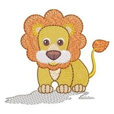 Patch Quilt, Free Machine Embroidery Designs, Embroidery Stitches, Lion, Baby Disney, Tweety, Winnie The Pooh, Hello Kitty, Disney Characters