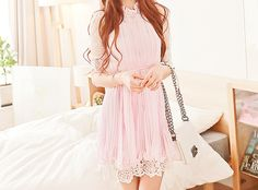 cute pastel dress. ^-^