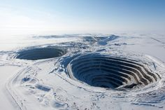 .PICAPIXELS / tumblr • thatscienceguy: Diavik Diamond Mine;  Proving...
