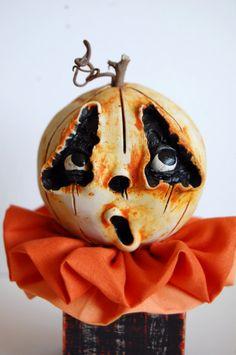 Liam the Pumpkin Block Head by TheTwistedPumpkin on Etsy