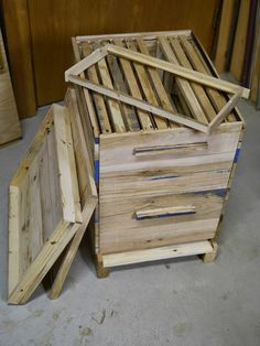 Adventures Down Under: How to Make a Beehive from Pallets