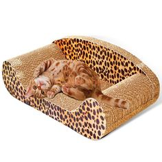 67f4776d53ff Hyun 50cm Sofa Design Cat Scratching Corrugated Board Toy Scratcher Bed Pad  ** Do hope